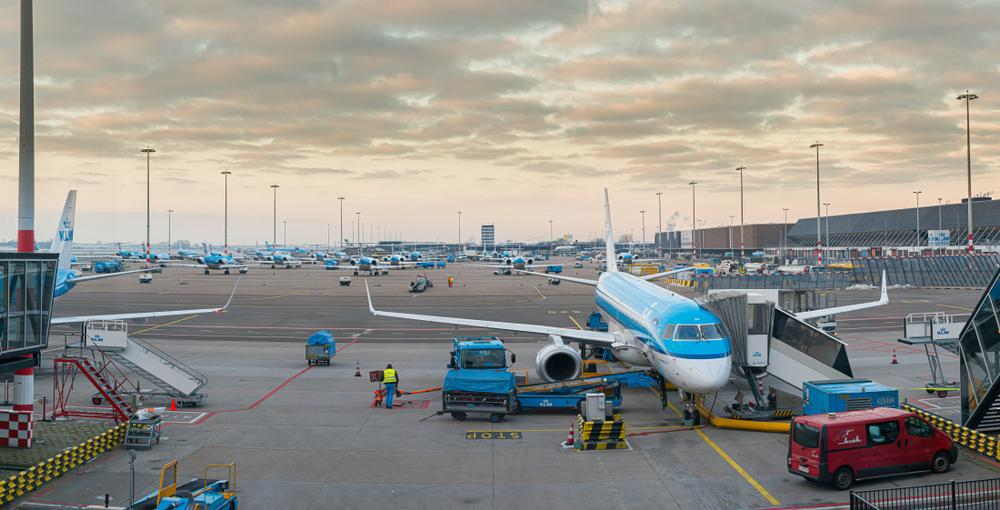 Vliegtuig Schiphol